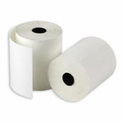 Чековая лента из термобумаги ProMega 57 мм (диаметр 43-45 мм, намотка 30 м, втулка 12 мм, 12 штук в упаковке)