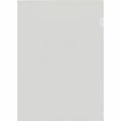 Папка- уголок пластиковая прозрачная 150 мкм (20 штук в упаковке)